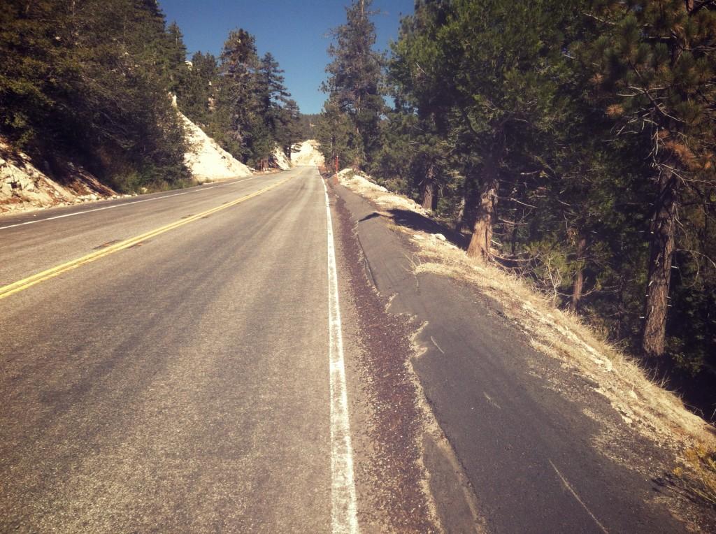 Steep highway!