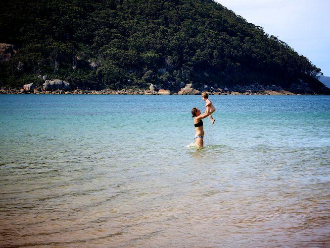 Swim at Sealers Cove