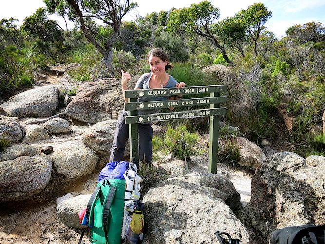 Kersop's Peak Trail