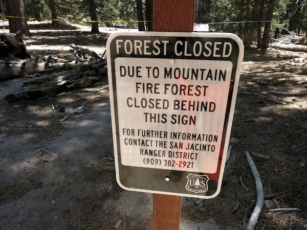 Forest Closures