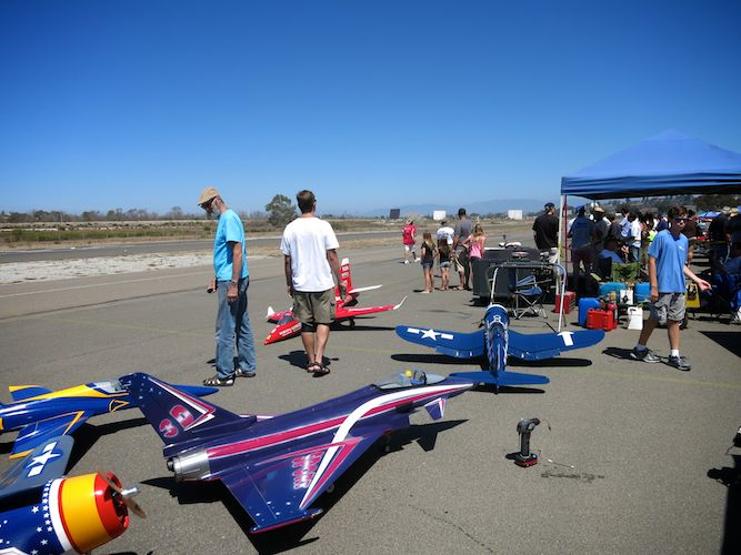 RC Airplanes Oceanside Airport