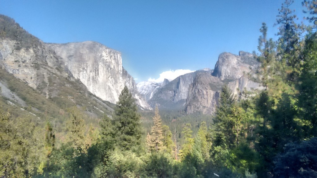 Yosemite from YARTS bus