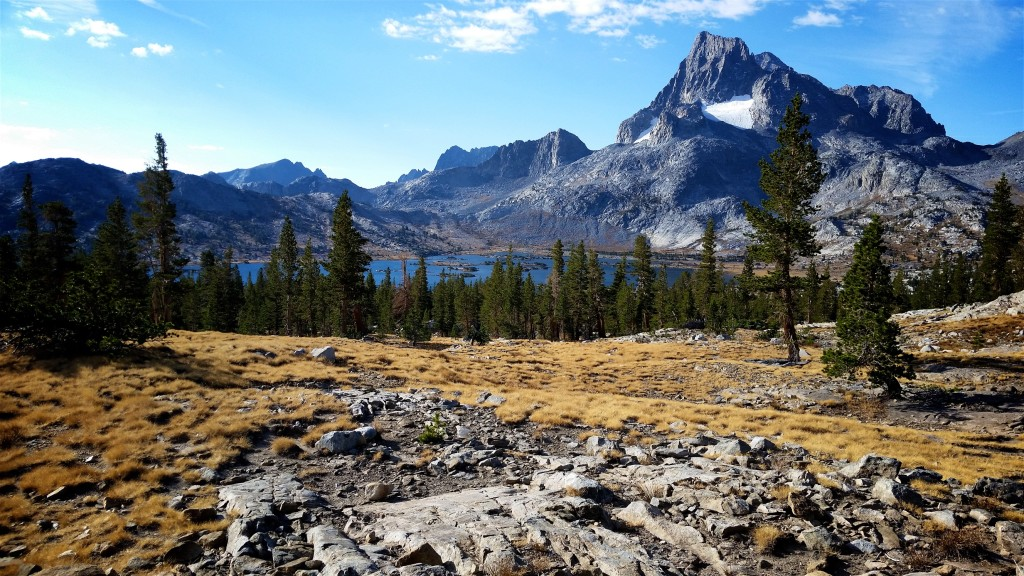 JMT Thousand Island Lake Banner Peak