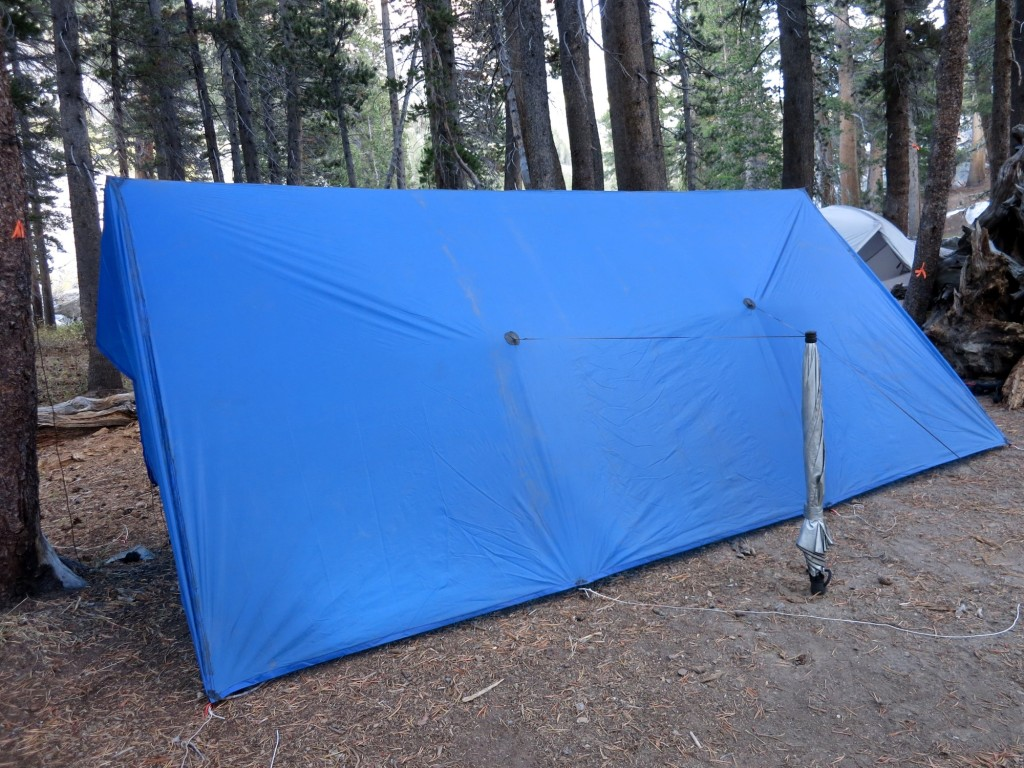 JMT ultralight tarp cold weather