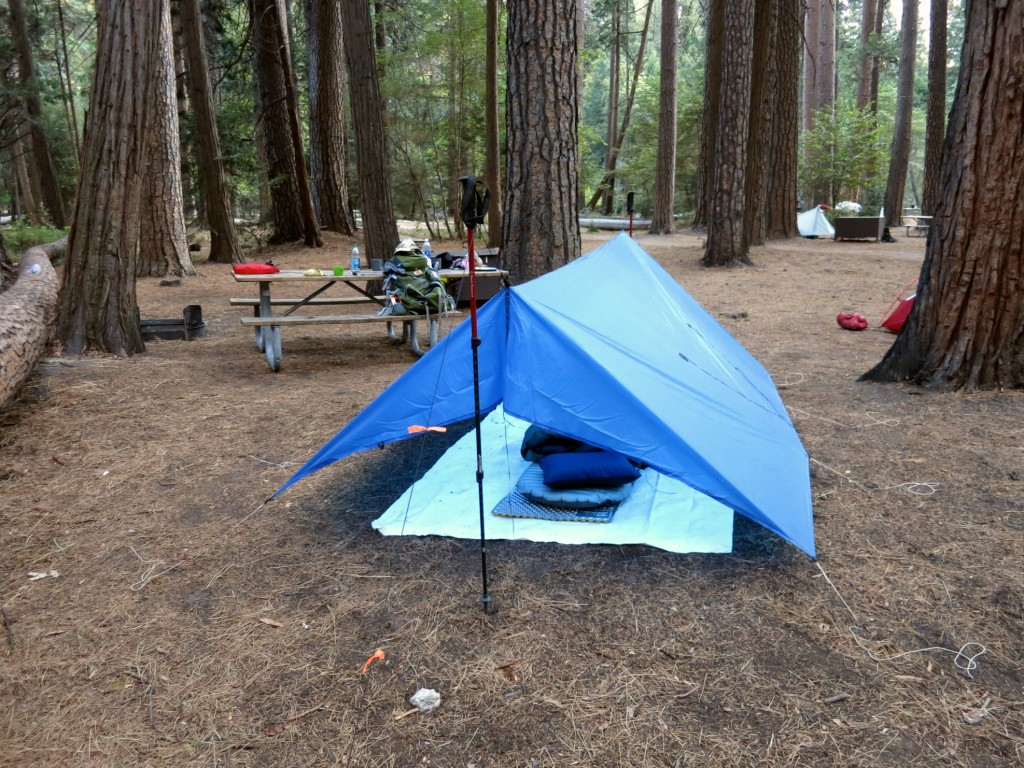 Yosemite Backpackers camp