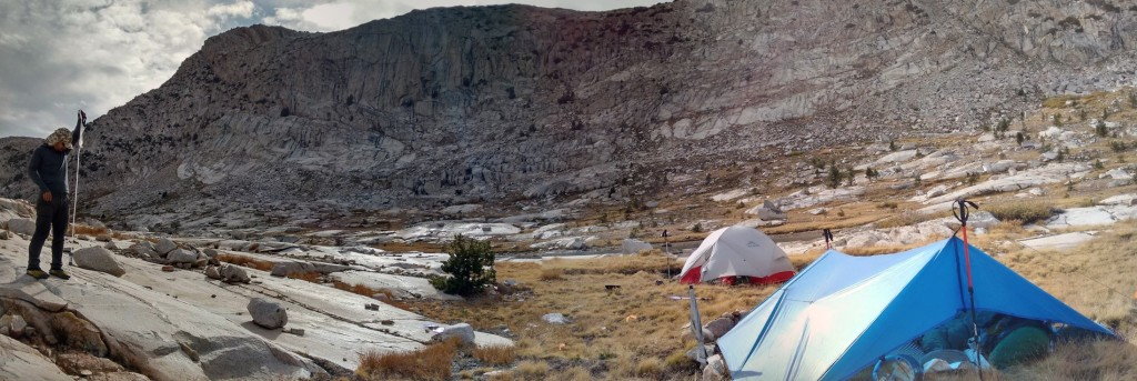 Muir Pass camp
