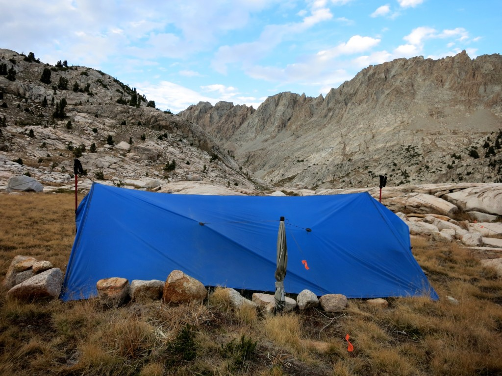 Ultralight Tarp on the JMT